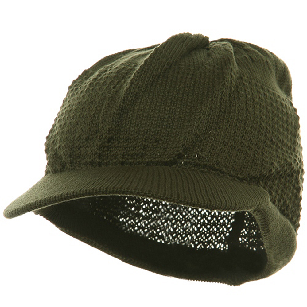 Cool Running Beanie Visor-Olive - Hats and Caps Online Shop - Hip Head Gear