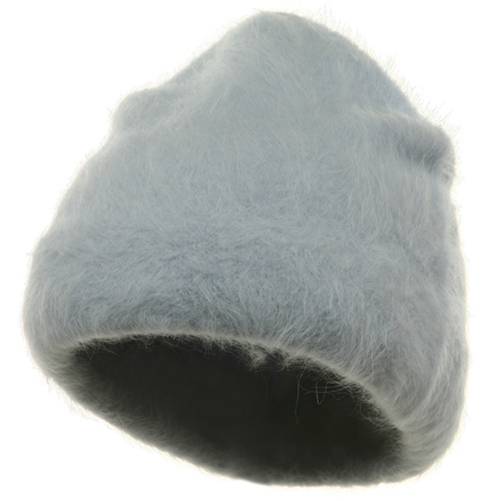 Angora Stretch Skull Cap-Lt Blue - Hats and Caps Online Shop - Hip Head Gear