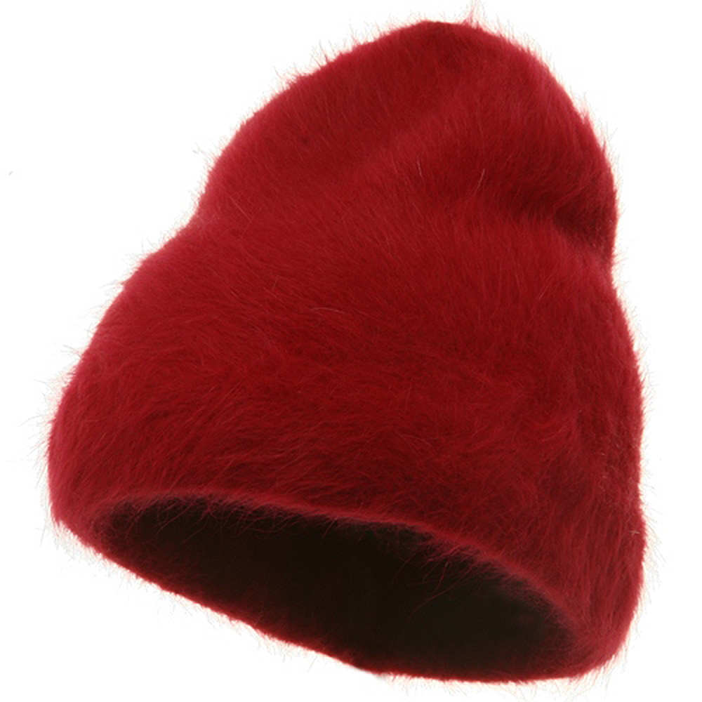 Angora Stretch Skull Cap-Red - Hats and Caps Online Shop - Hip Head Gear