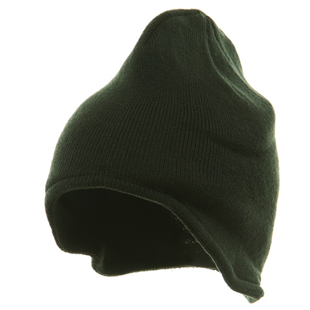 Acrylic Fleece Knit Beanies-Forest - Hats and Caps Online Shop - Hip Head Gear