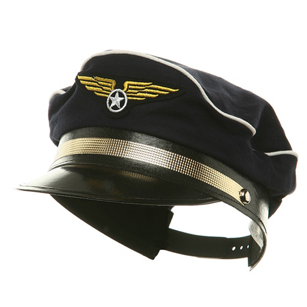 Pilot Hats - Navy - Hats and Caps Online Shop - Hip Head Gear
