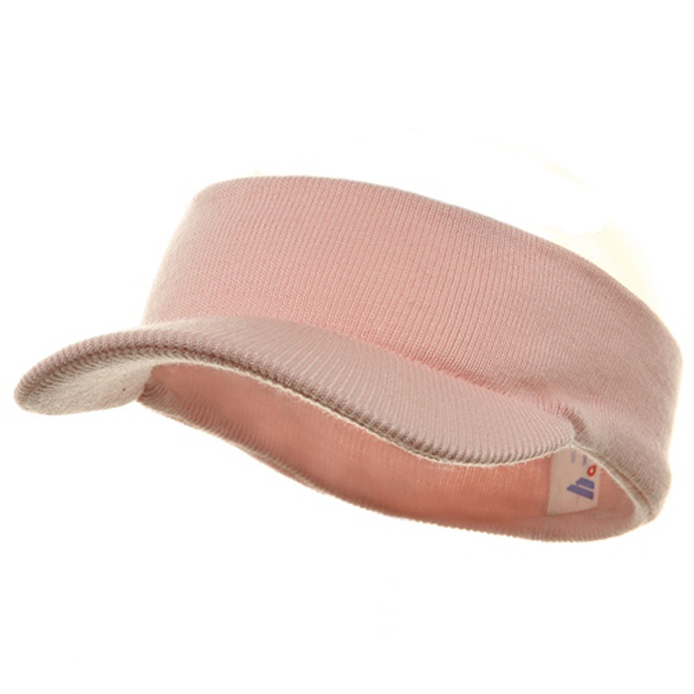 Knitting Band Visor-Pink - Hats and Caps Online Shop - Hip Head Gear