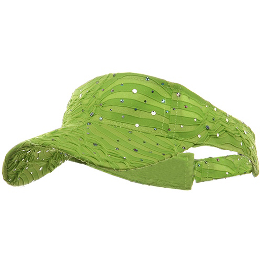 Glitter Visor-Lime - Hats and Caps Online Shop - Hip Head Gear
