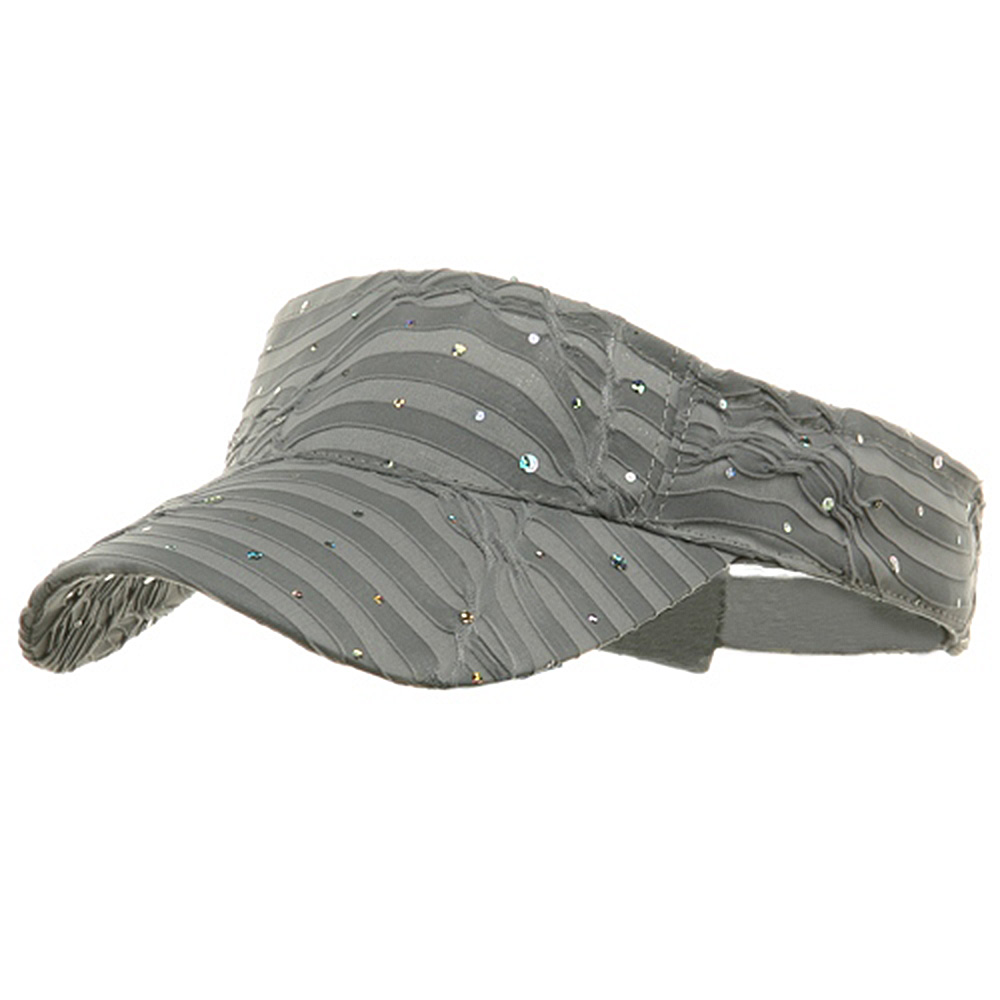 Glitter Visor-Silver - Hats and Caps Online Shop - Hip Head Gear