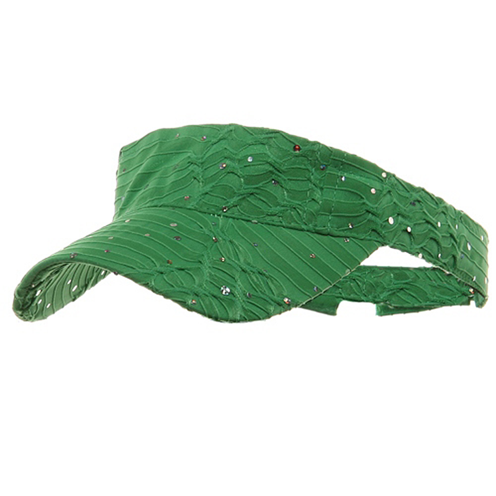 Glitter Visor-Green - Hats and Caps Online Shop - Hip Head Gear
