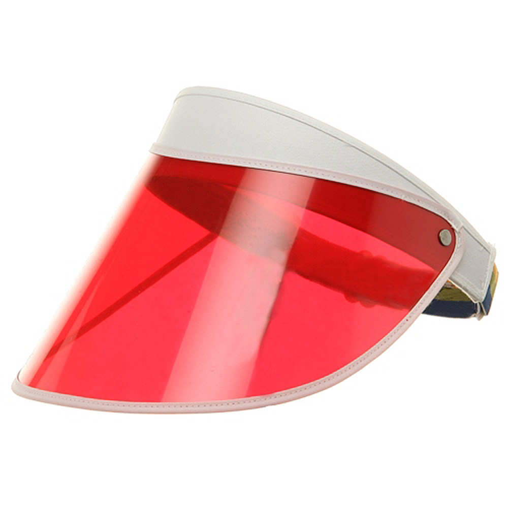 Adjustable Visor-Red - Hats and Caps Online Shop - Hip Head Gear