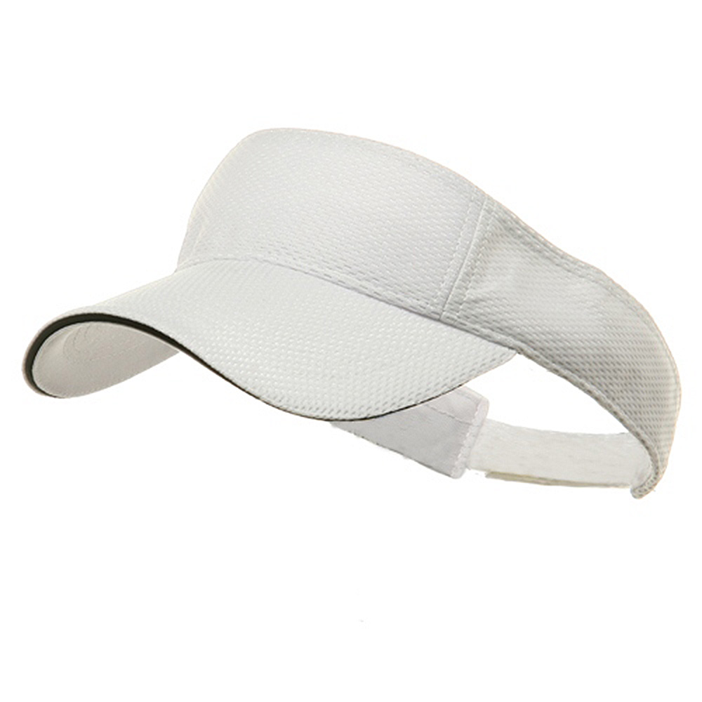 Athletic Mesh Visor-White - Hats and Caps Online Shop - Hip Head Gear