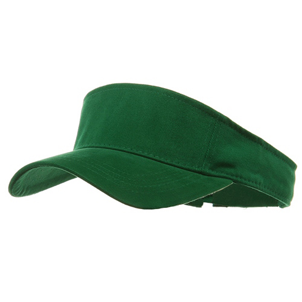 Brushed Sports Visor-Kelly - Hats and Caps Online Shop - Hip Head Gear