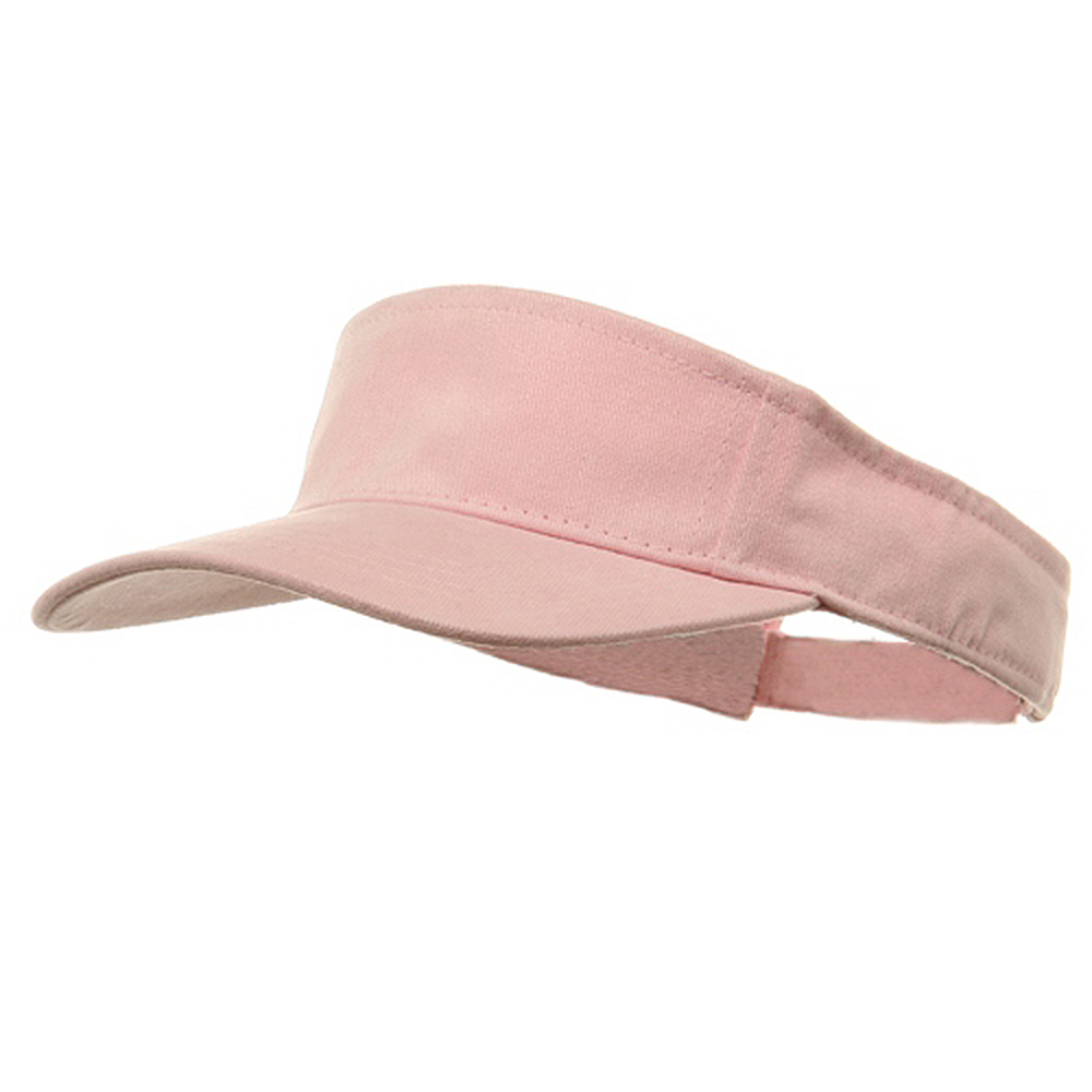 Brushed Sports Visor-Pink - Hats and Caps Online Shop - Hip Head Gear