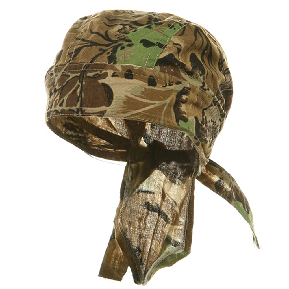 Camo Series Headwraps-Tree Leaf - Hats and Caps Online Shop - Hip Head Gear