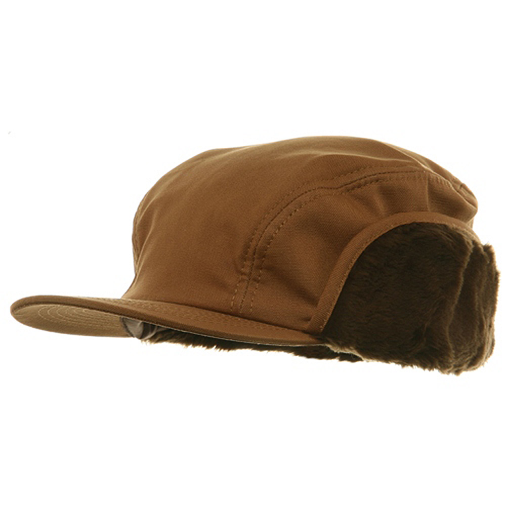 Duck Work Earflap Cap - Brown - Hats and Caps Online Shop - Hip Head Gear
