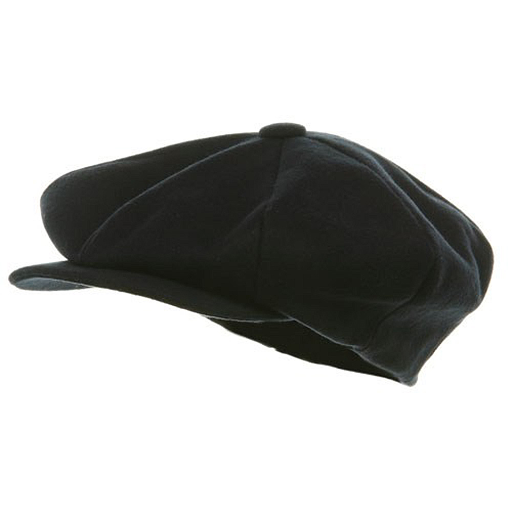 Big Apple Melton Wool Cap - Navy - Hats and Caps Online Shop - Hip Head Gear