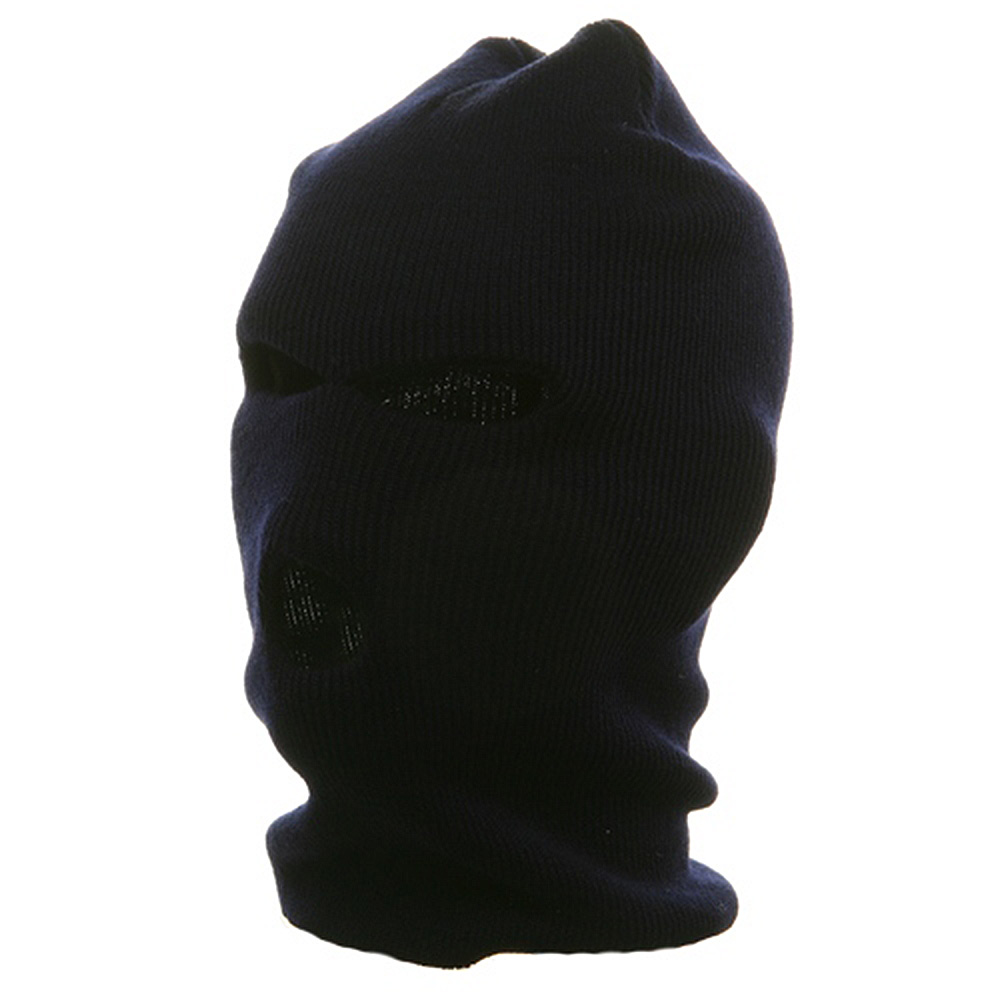 Ski Mask - Tri Hole  - Navy(2) - Hats and Caps Online Shop - Hip Head Gear