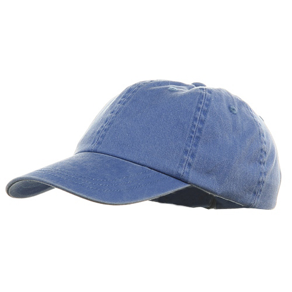 Youth Pigment Dyed Washed Cap - Royal - Hats and Caps Online Shop - Hip Head Gear