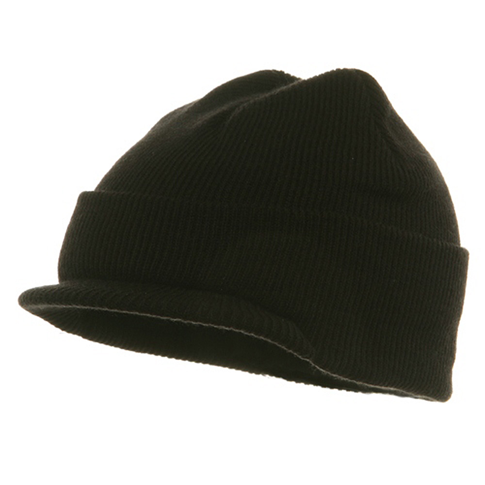 Youth Beanie Jeep Cap - Black - Hats and Caps Online Shop - Hip Head Gear