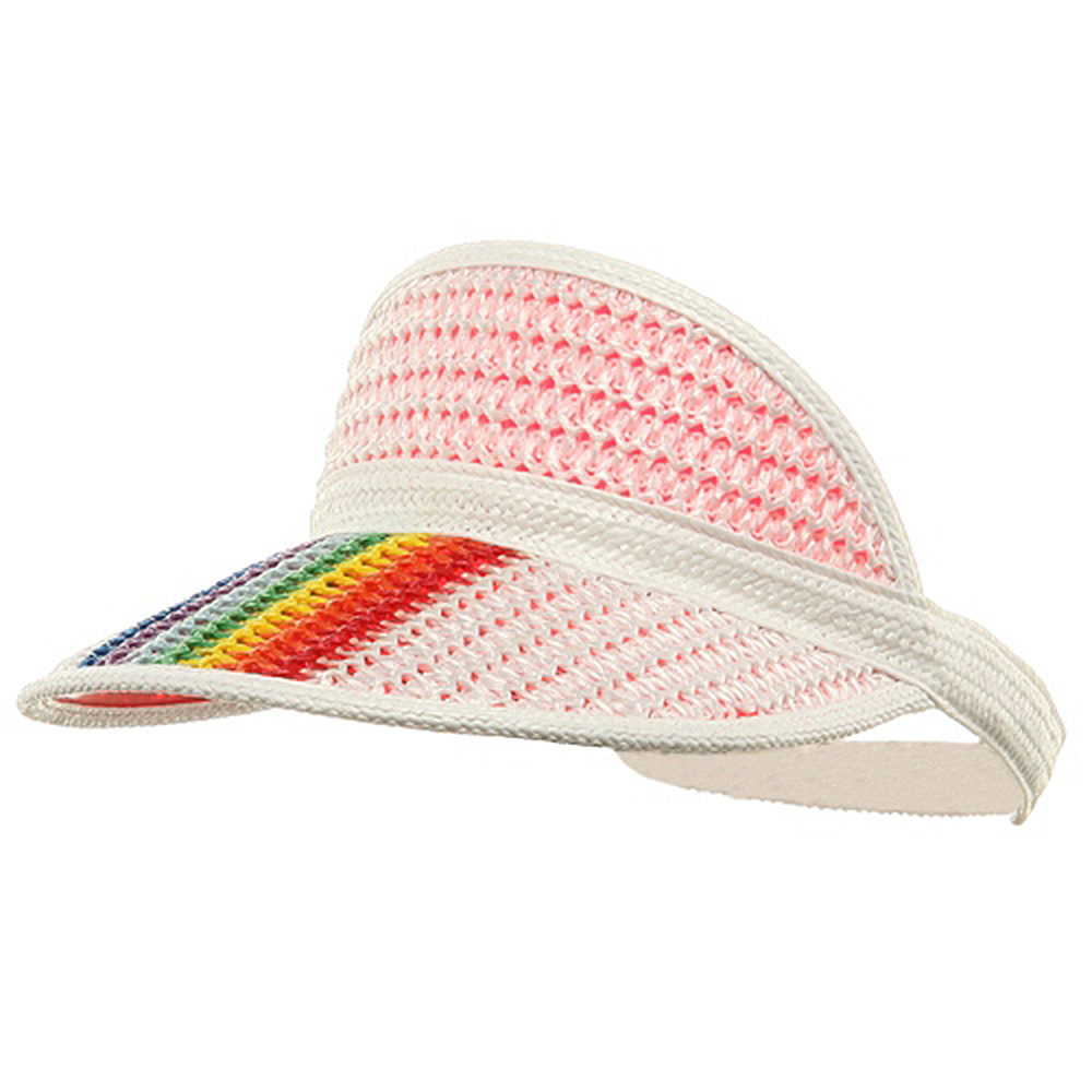 Fashion PVC Elastic Band Visor - Red - Hats and Caps Online Shop - Hip Head Gear