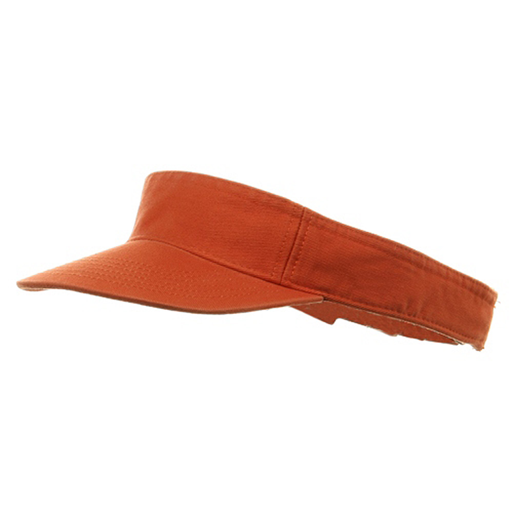 Youth Pro Style Cotton Visor - Orange - Hats and Caps Online Shop - Hip Head Gear