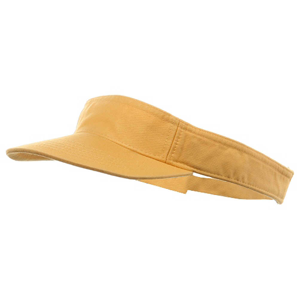 Youth Pro Style Cotton Visor - Mango - Hats and Caps Online Shop - Hip Head Gear