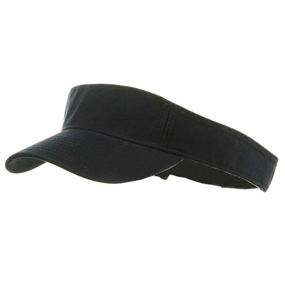 Youth Pro Style Cotton Visor - Navy - Hats and Caps Online Shop - Hip Head Gear