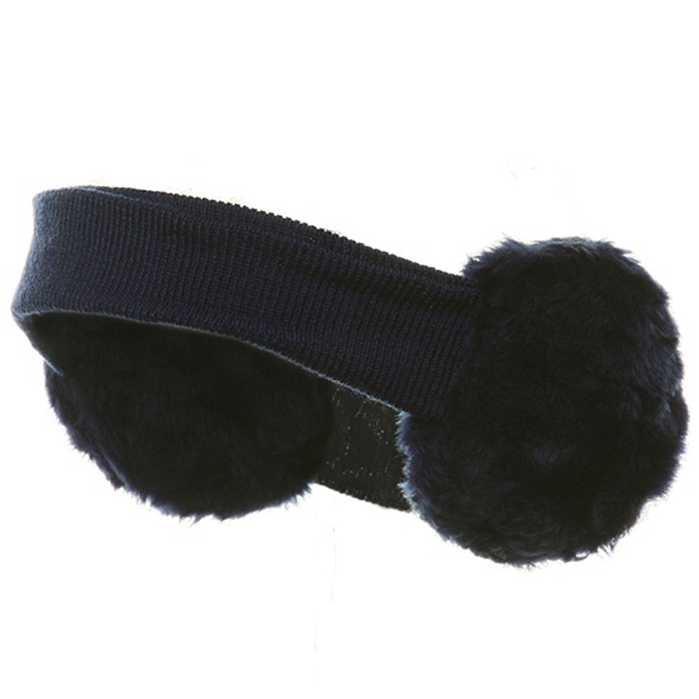 Ear Muff Headband-Navy - Hats and Caps Online Shop - Hip Head Gear