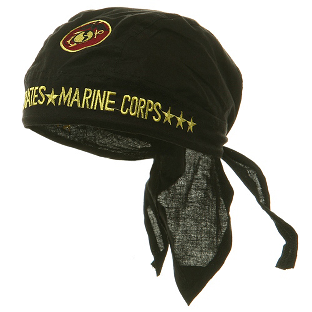 Embroidery Series Head Wraps-United States Marine Corp - Hats and Caps Online Shop - Hip Head Gear
