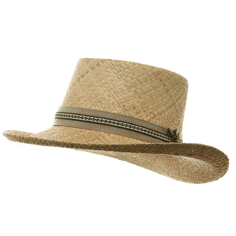 ML Gambler Straw Hat - Raffia - Hats and Caps Online Shop - Hip Head Gear