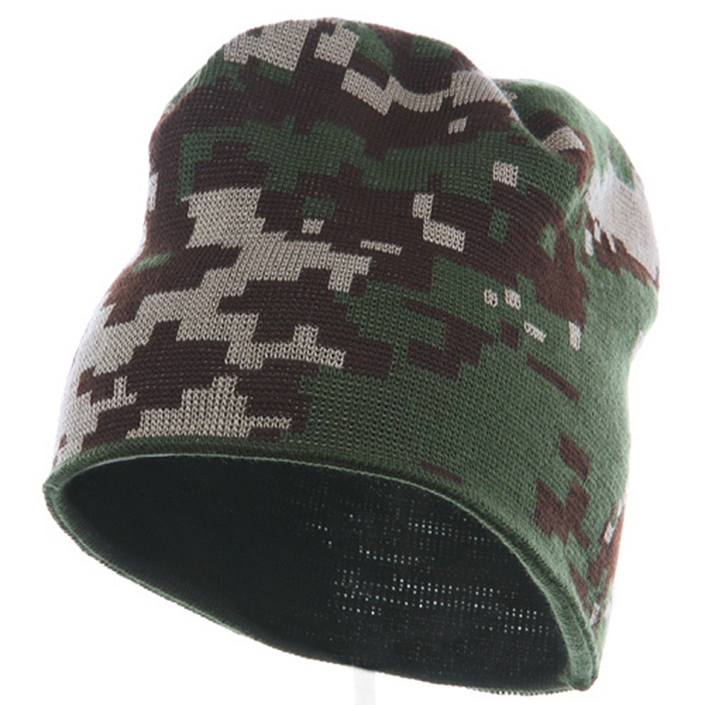 Digital Camo Beanie - Digital Desert - Hats and Caps Online Shop - Hip Head Gear