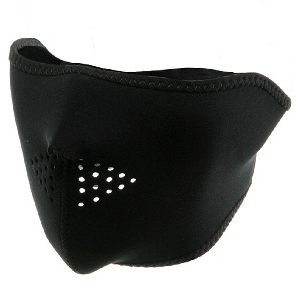 Neoprene Half Face Mask - Black