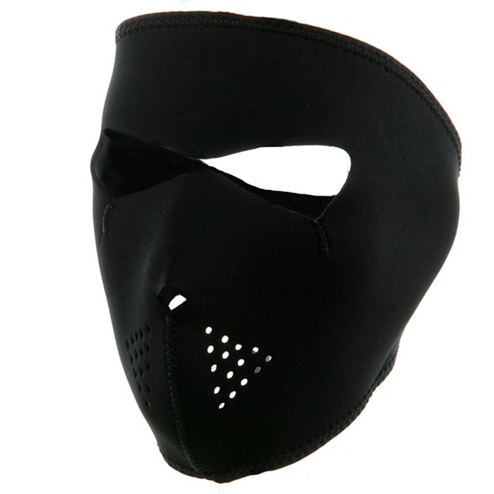 Neoprene Full Face Mask - Black - Hats and Caps Online Shop - Hip Head Gear