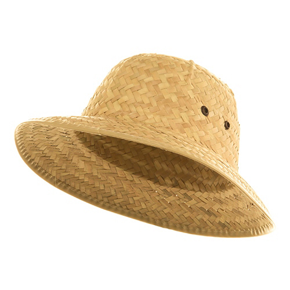 Straw Pith Helmet - Natural - Hats and Caps Online Shop - Hip Head Gear