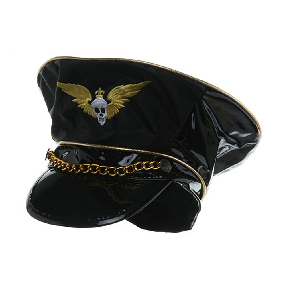 Sexy Vinyl Cap - Winged Skull - Hats and Caps Online Shop - Hip Head Gear