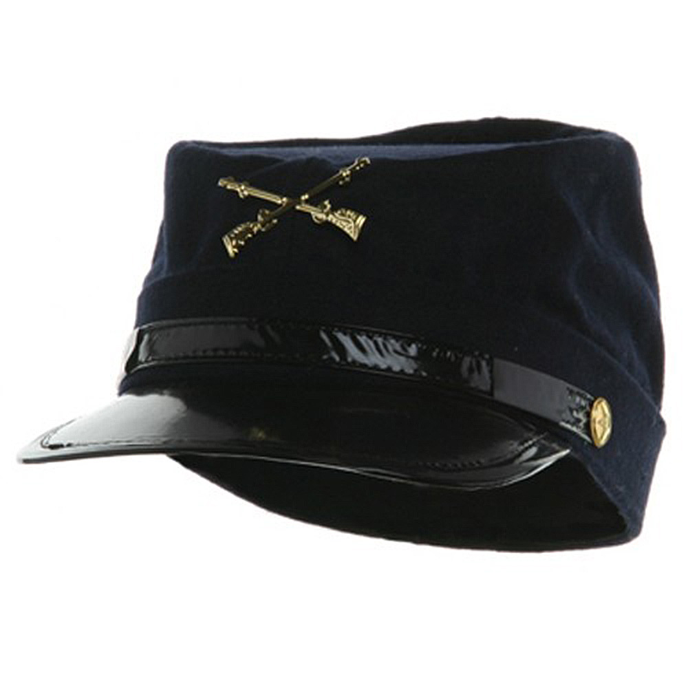 Wool Civil War Hat - Navy - Hats and Caps Online Shop - Hip Head Gear