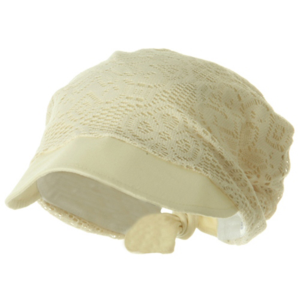 Ladies Jacquard Mesh Hat - Natural - Hats and Caps Online Shop - Hip Head Gear