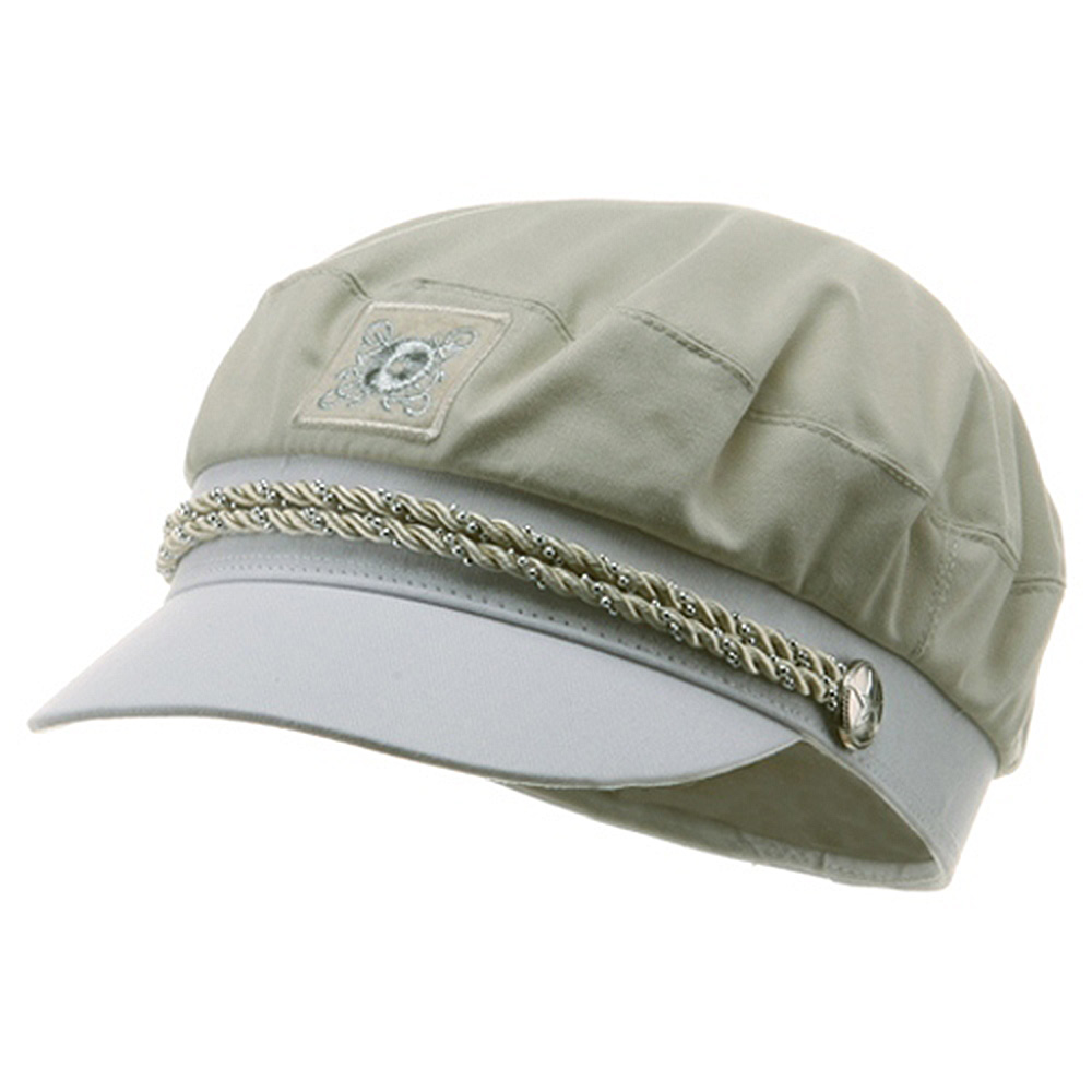 Captain Sailor Hat - Beige - Hats and Caps Online Shop - Hip Head Gear