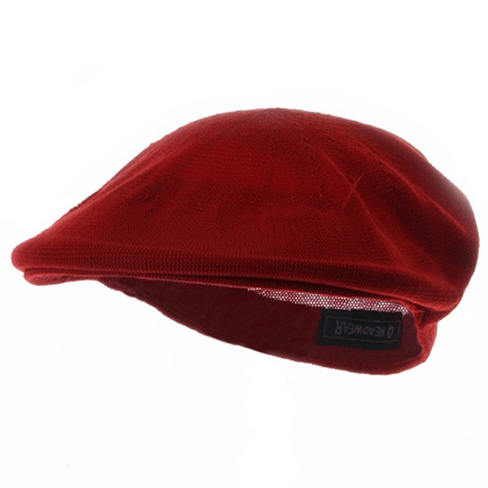 Ivy Caps-Red - Hats and Caps Online Shop - Hip Head Gear