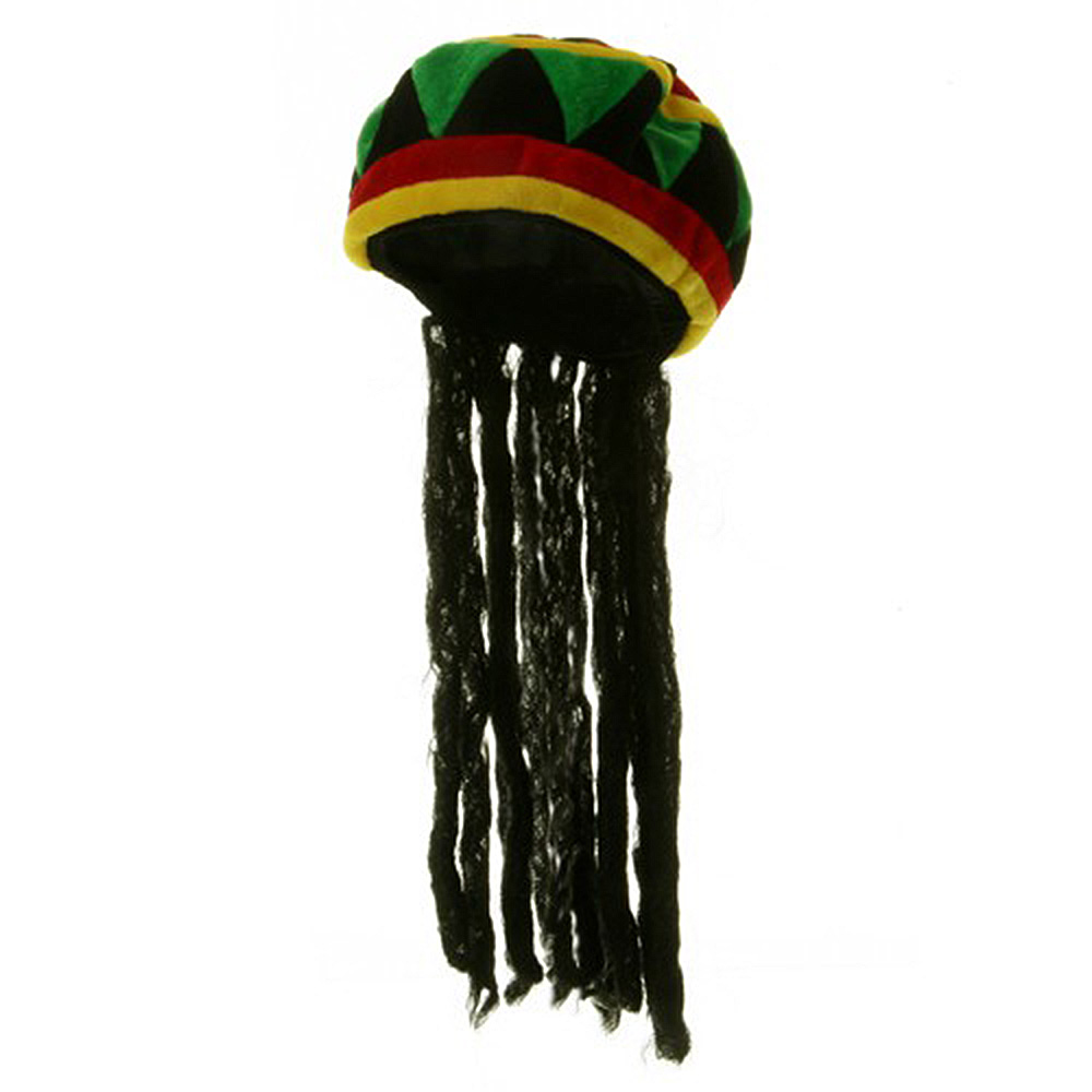 Velvet Wig Hat - Rasta - Hats and Caps Online Shop - Hip Head Gear