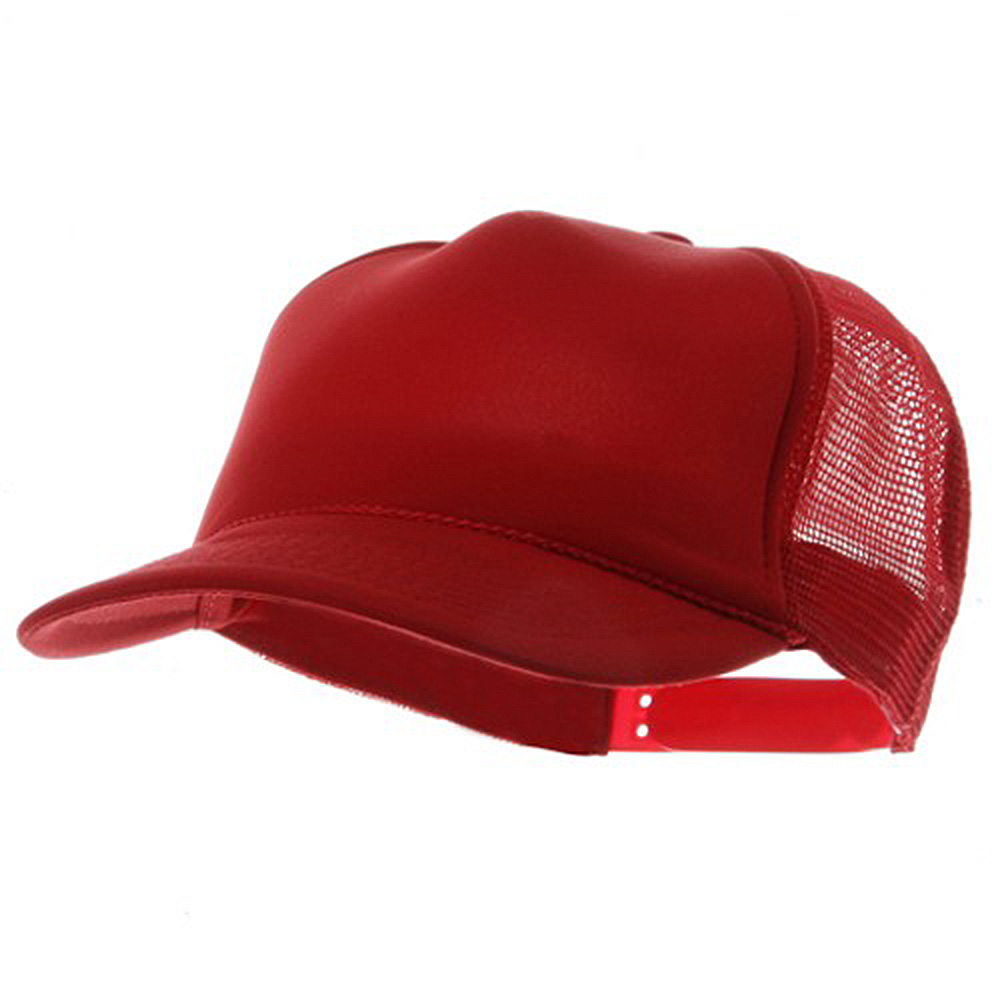 Youth Polymesh Cap - Red - Hats and Caps Online Shop - Hip Head Gear
