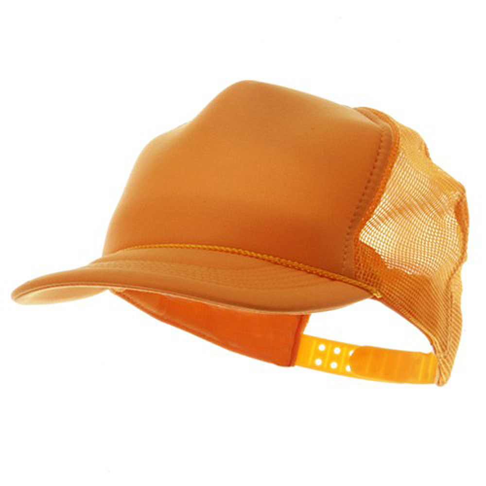 Youth Polymesh Cap - Gold - Hats and Caps Online Shop - Hip Head Gear