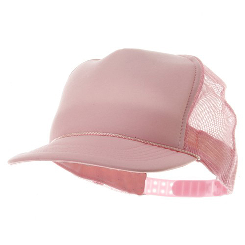 Youth Polymesh Cap - Pink - Hats and Caps Online Shop - Hip Head Gear