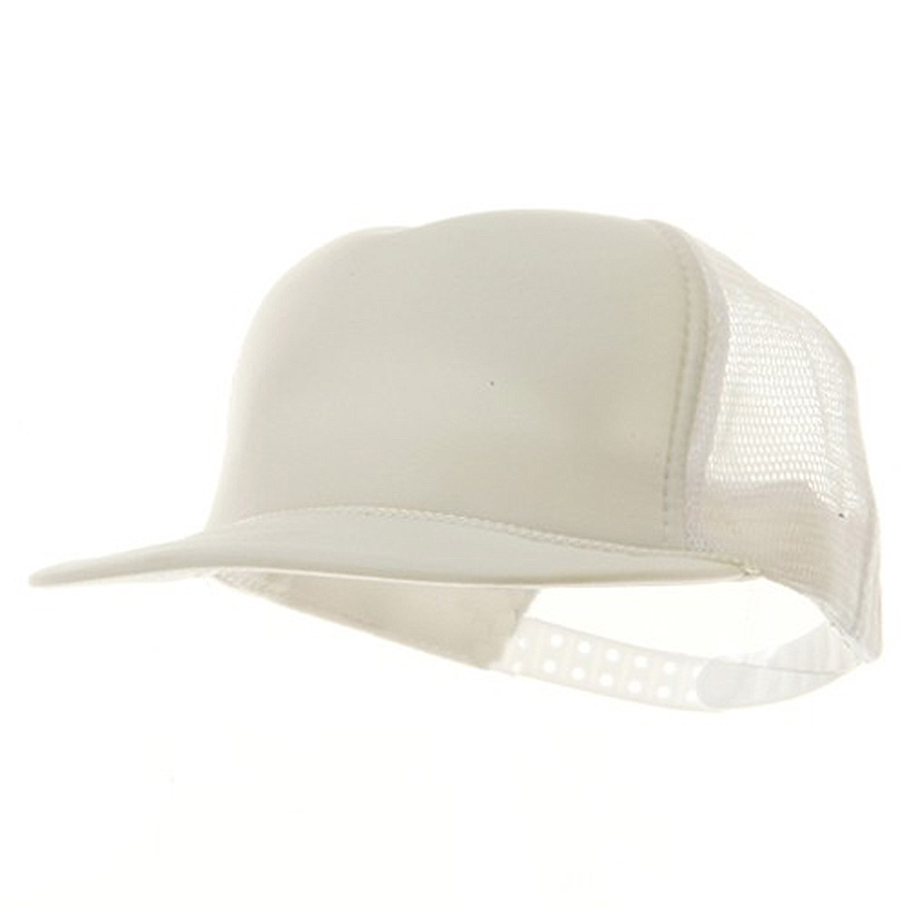 Youth Polymesh Cap - White - Hats and Caps Online Shop - Hip Head Gear