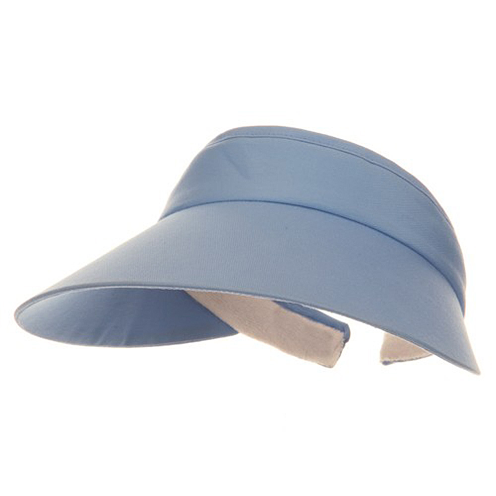 Large Peak Twill Clip On-Light Blue - Hats and Caps Online Shop - Hip Head Gear
