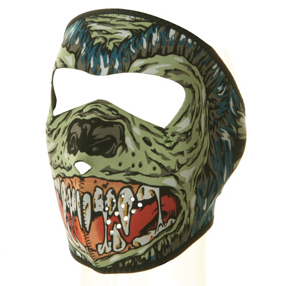 Neoprene Full Face Mask - Hell Hound - Hats and Caps Online Shop - Hip Head Gear