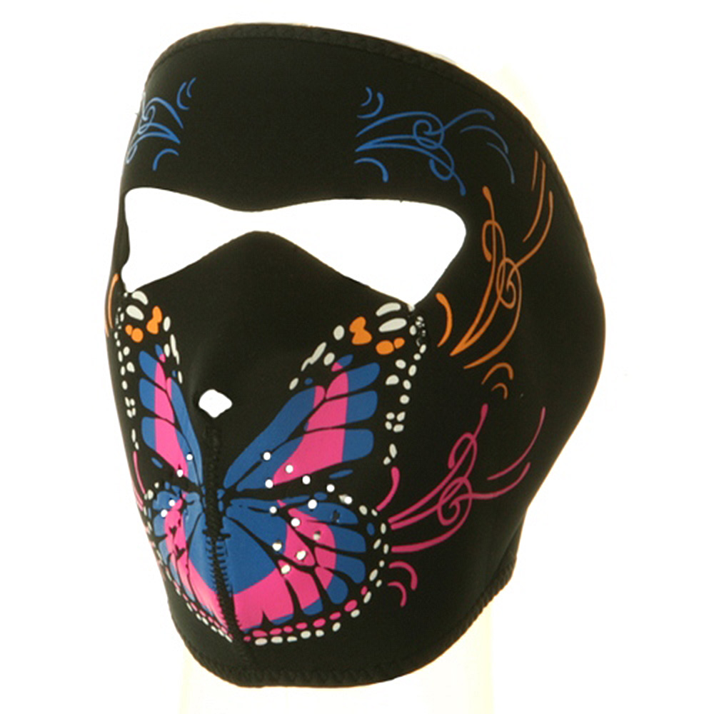 Neoprene Full Face Mask - Butterfly - Hats and Caps Online Shop - Hip Head Gear