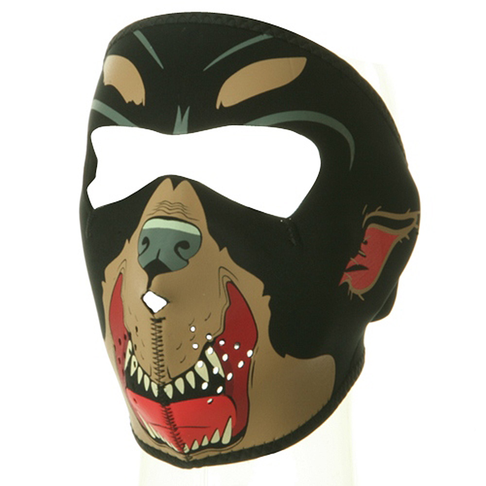 Neoprene Full Face Mask - Rott Weiler - Hats and Caps Online Shop - Hip Head Gear