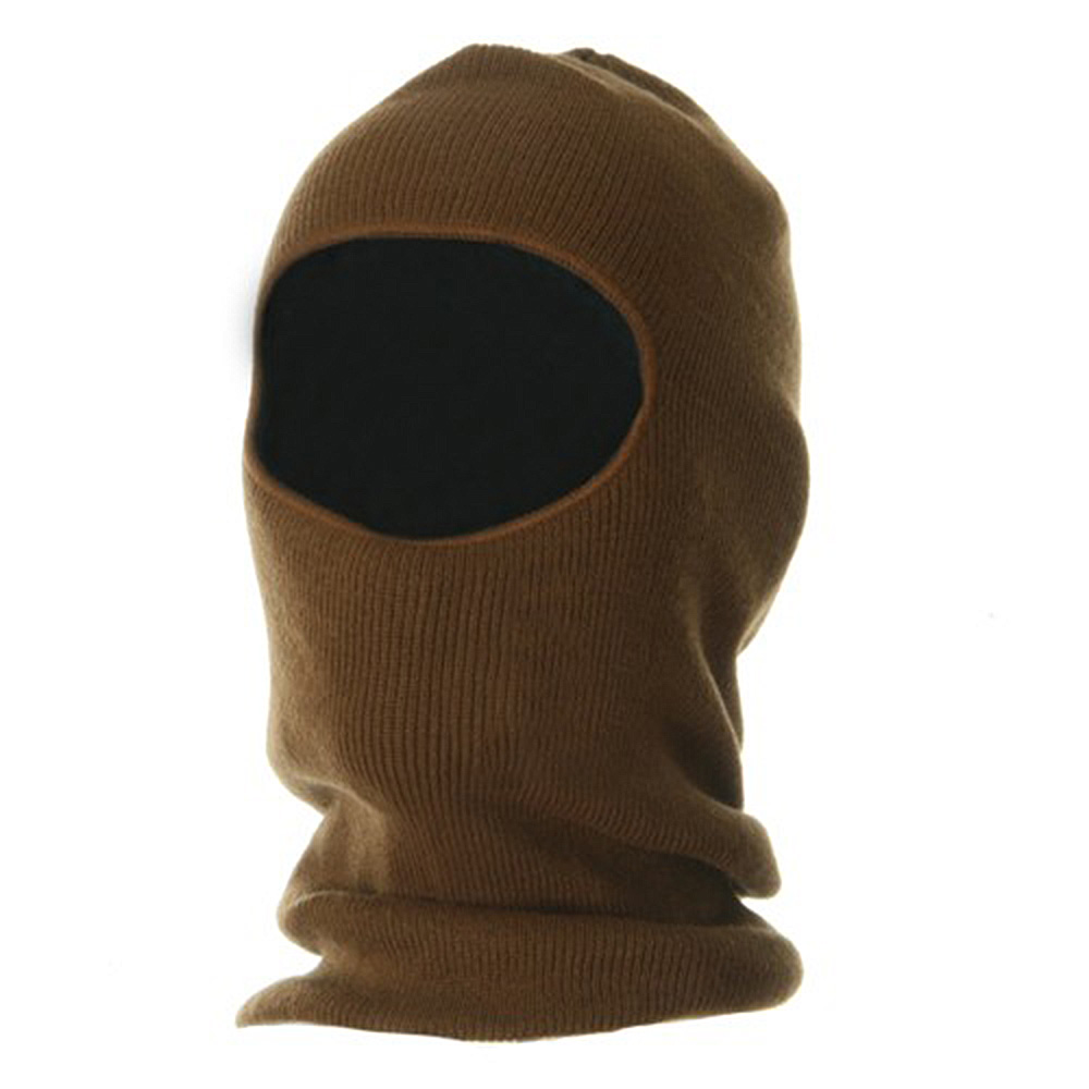 Fleece Lined Face Mask - Copper - Hats and Caps Online Shop - Hip Head Gear