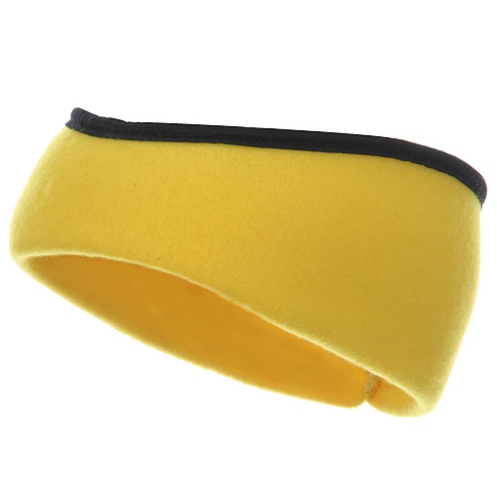 Earband With Binding - Yellow - Hats and Caps Online Shop - Hip Head Gear