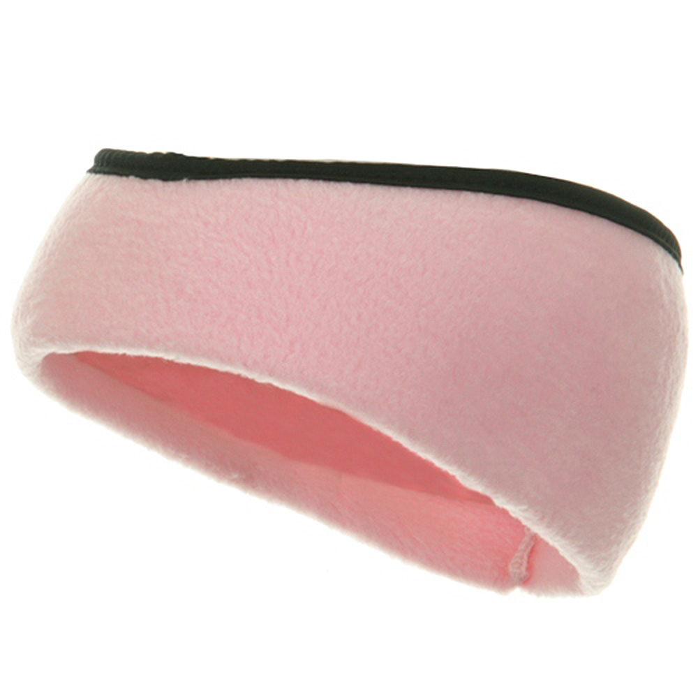 Earband With Binding - Light Pink - Hats and Caps Online Shop - Hip Head Gear