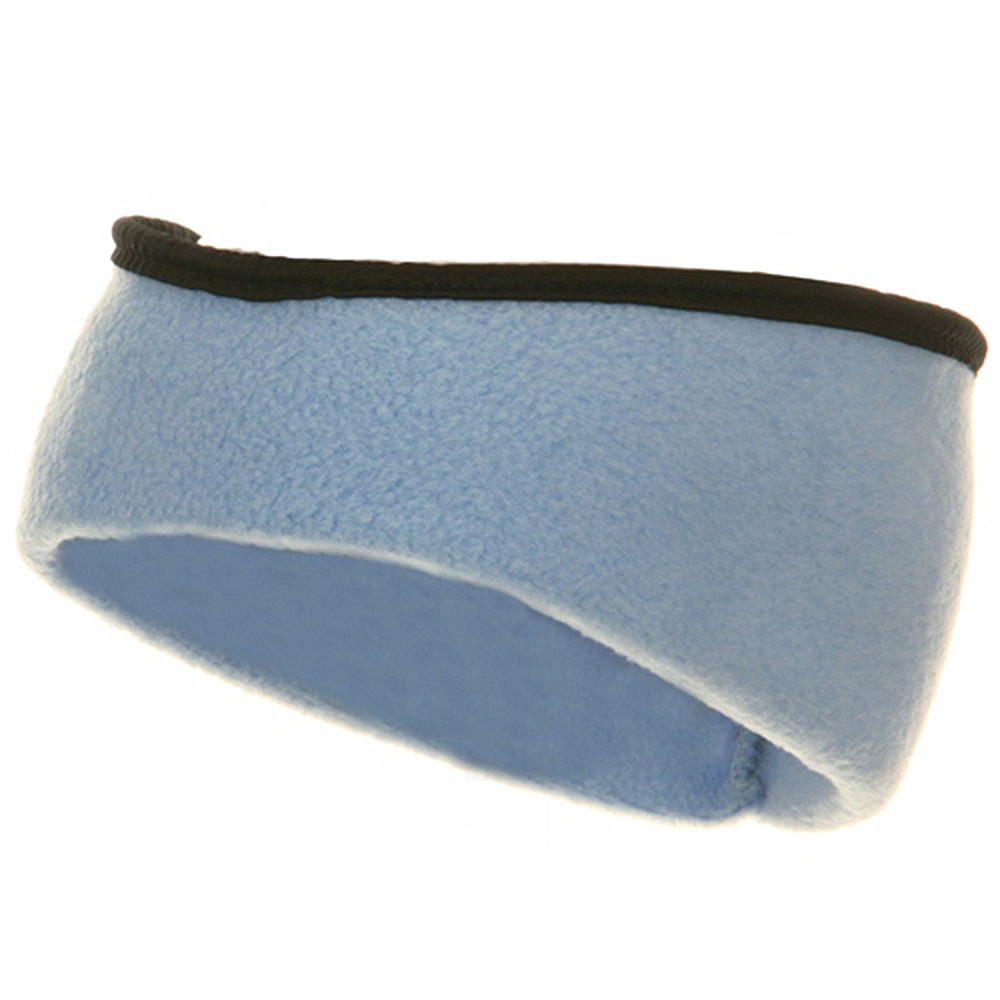 Earband With Binding - Sky Blue - Hats and Caps Online Shop - Hip Head Gear