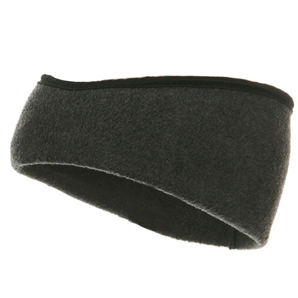 Earband With Binding - Grey - Hats and Caps Online Shop - Hip Head Gear
