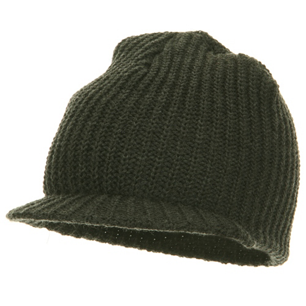Lumberjack Jeep Beanie Visor - Charcoal - Hats and Caps Online Shop - Hip Head Gear